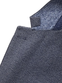 Slim Brushed Oxford Suit Jacket