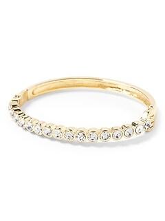 Stone Strand Bangle Bracelet