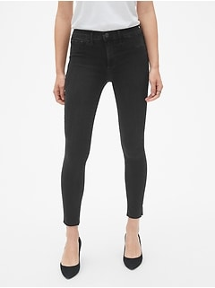 390d7f22f0615 Mid Rise Favorite Ankle Jeggings with Raw Hem