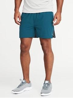 1e33185381 Go-Dry 4-Way Stretch Run Shorts for Men - 5-inch inseam