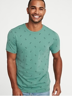 Soft-Washed Printed Tee for Men 0dbff60a0