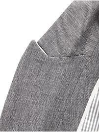 Classic-Fit Textured Blazer