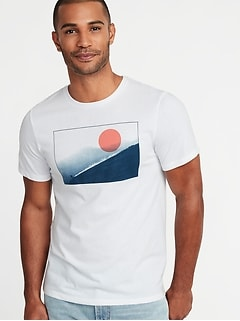 Graphic Soft-Washed Tee for Men 8c6c7fc95