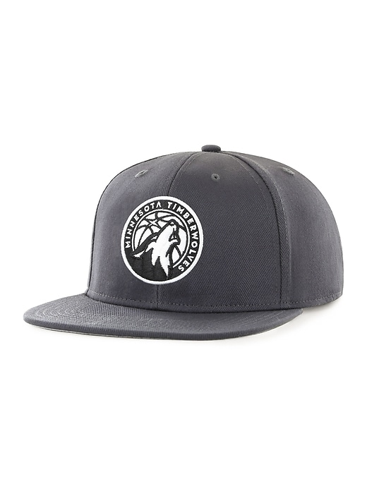 NBA&#174 Team-Graphic Flat-Brim Cap for Adults