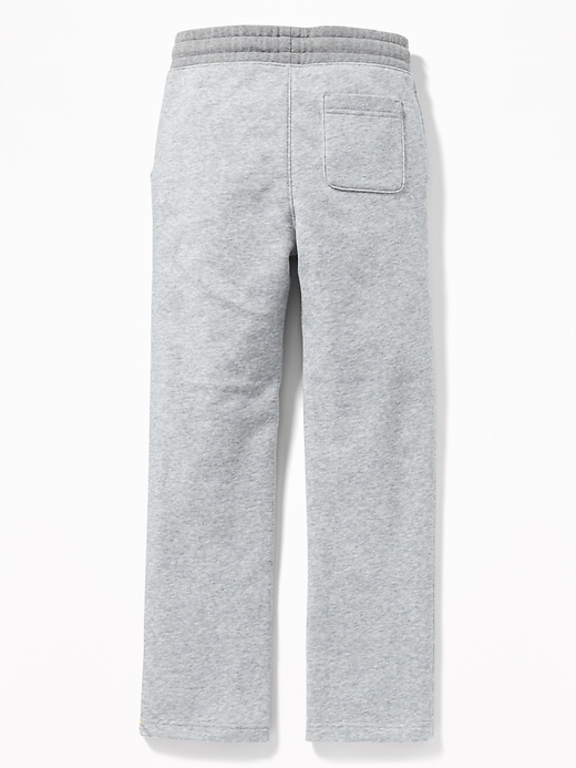 Uniform Slim Taper Sweatpants for Boys
