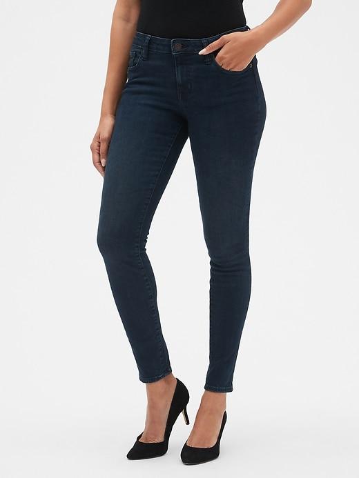 Mid Rise Sculpted Legging Jeans