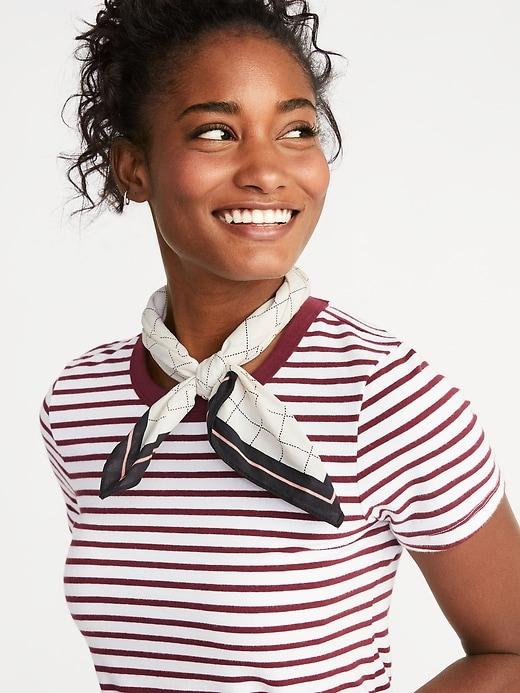 Printed Neckerchief for Women