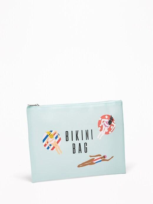 Graphic Jelly Bikini Bag For Women