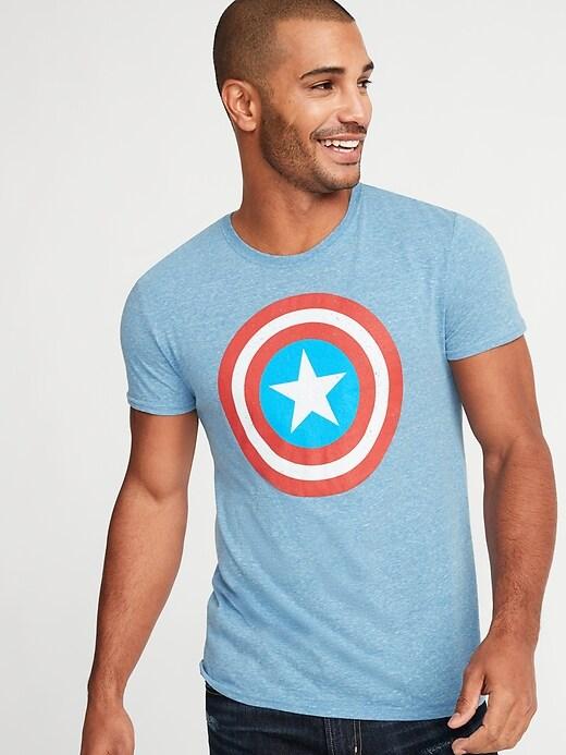 Marvel&#153 Captain America Tee for Men