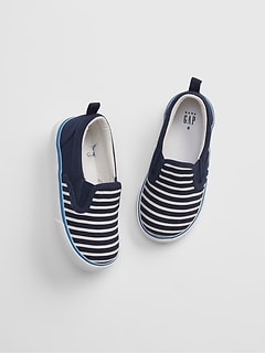 7e09bc681 Toddler Stripe Slip-On Sneakers