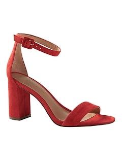 1aeaf3b7ea0 Bare High Block-Heel Sandal