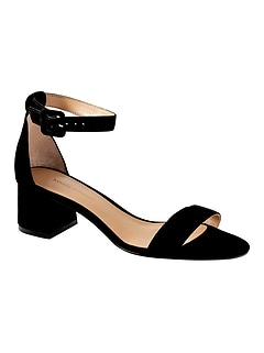 d3653e54d7d Bare Low Block-Heel Sandal