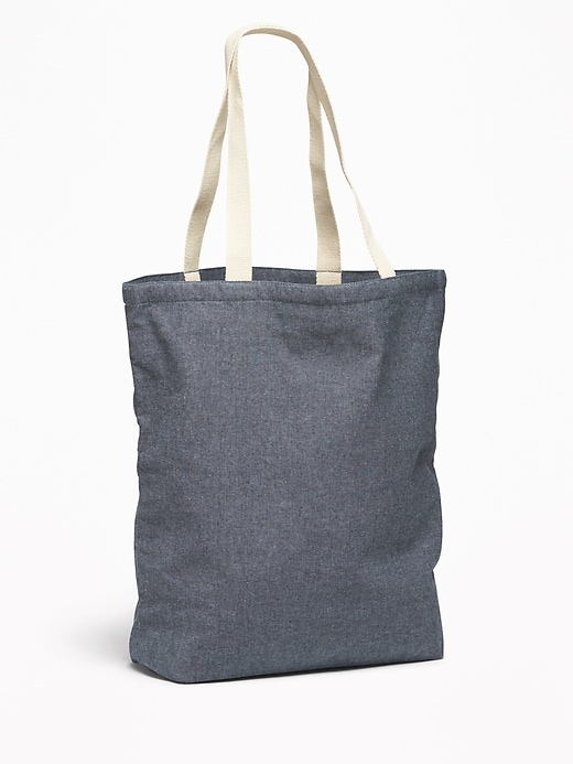 Chambray Tote for Women