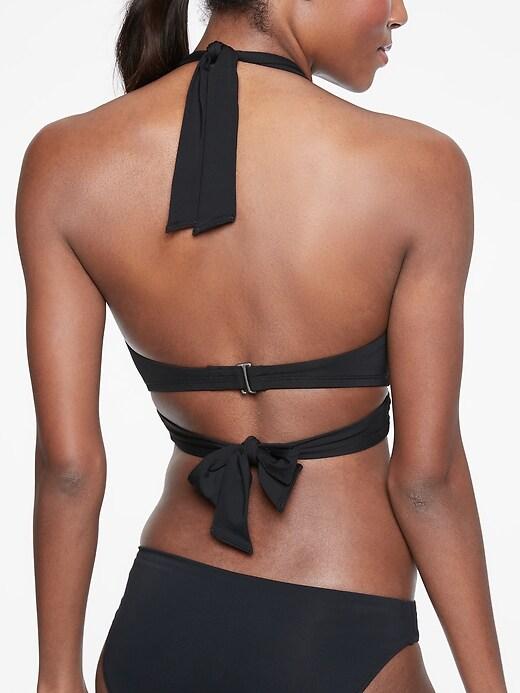 Bra Cup Wrap Halter Bikini Top