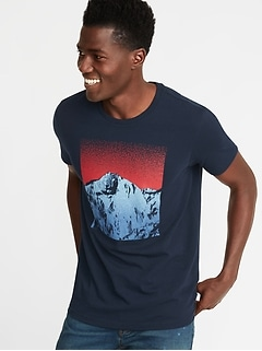 70d3f06a798 Graphic Soft-Washed Tee for Men