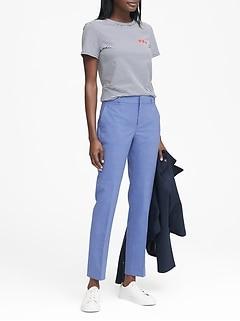 Ryan Slim Straight-Fit Lightweight Wool Pant