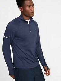 Ultra-Soft Breathe ON 1/4-Zip Pullover for Men