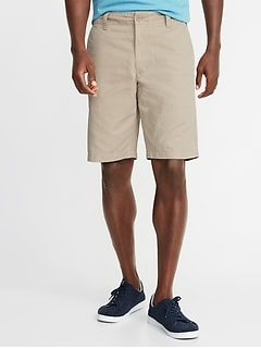 ecbf40279a Straight Lived-In Khaki Shorts for Men - 10-inch inseam