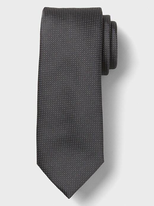 Stain-Resistant Micro Dot Tie