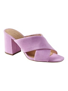 2f3a998a3f0 Criss-Cross Mule Sandal