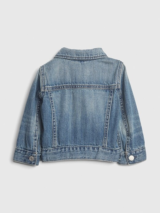 Baby Organic Cotton Icon Denim Jacket