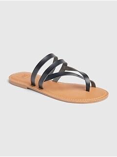 71afe474514c Strappy Toe Slide Sandals