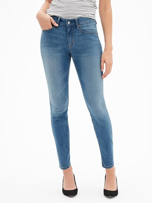 Mid Rise Curvy Legging Skimmer Jeans