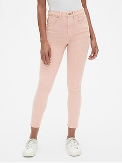 7e8c8c1cd High Rise True Skinny Ankle Jeans in Color