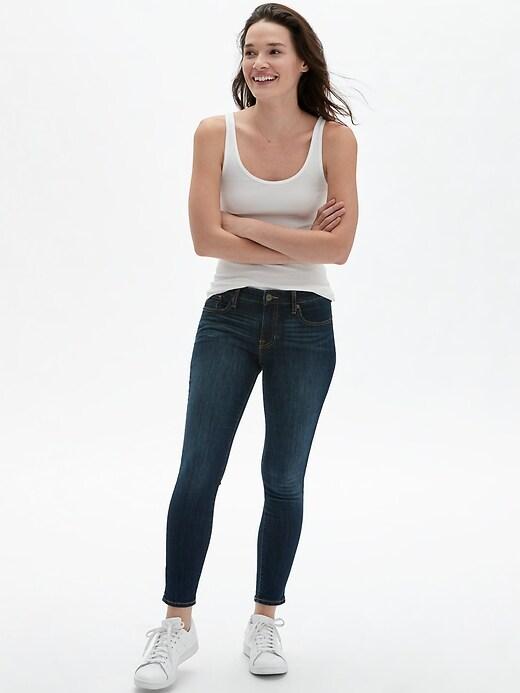 Mid Rise Legging Skimmer Jeans