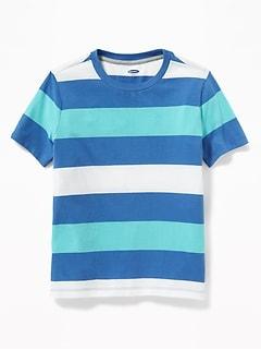 5ff06f9ab47 Bold-Stripe Softest Tee for Boys