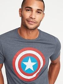 Marvel&#153 Captain America Graphic Tee for Men