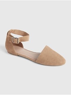 607abbef11e Ankle Strap d Orsay Flats