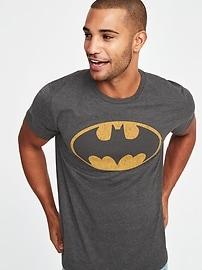 T-shirt avec imprimé Batman de DC ComicsMC pour garçon