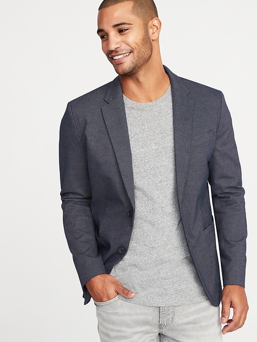 Built-In Flex Blazer for Men