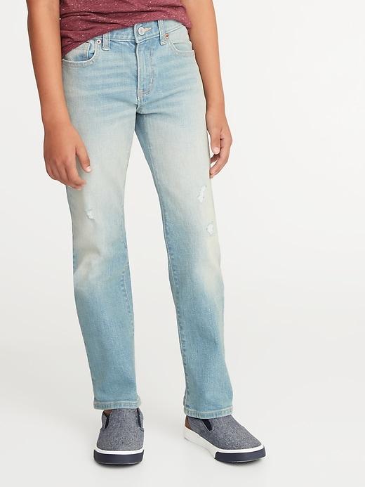 Built-In Flex Straight Jeans for Boys