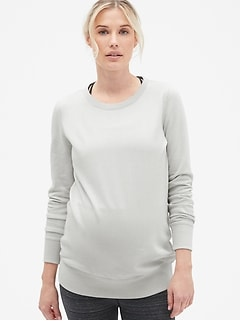 1063dd8263b5d Maternity Vintage Soft Pullover Sweatshirt in French Terry