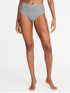 01abbf2029b High-Waist Swim Bottoms for Women
