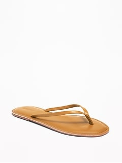 547d3fc5b1e1 Faux-Leather Capri Sandals for Women