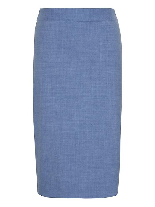 Lightweight Wool Pencil Skirt