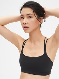 GapFit Breathe Low Support Strappy Sports Bra