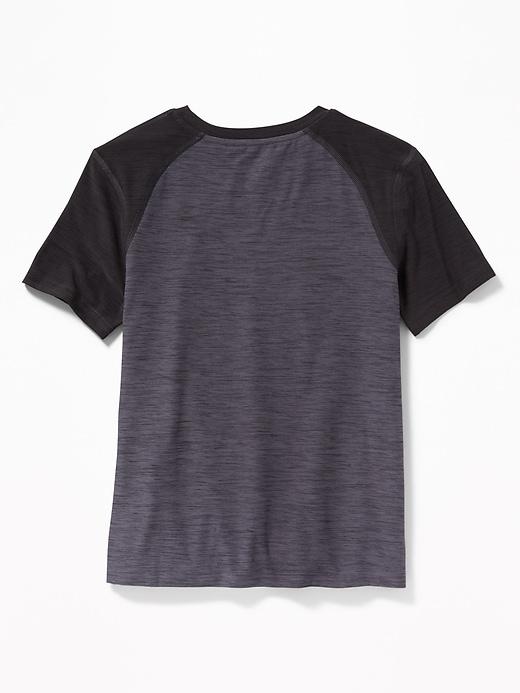 T-shirt Go-Dry Breathe ON à deux tons pour garçon