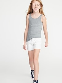 Fitted Jersey Tank for Girls
