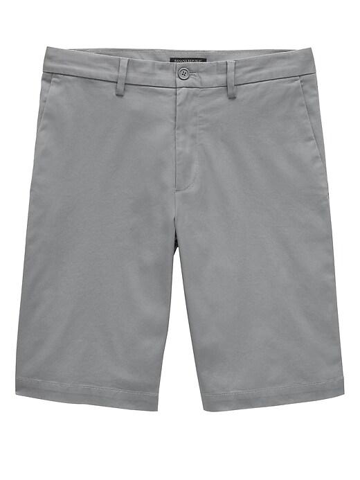 "11"" Stretch-Cotton Short"