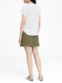 Petite SUPIMA® Cotton Crew-Neck T-Shirt