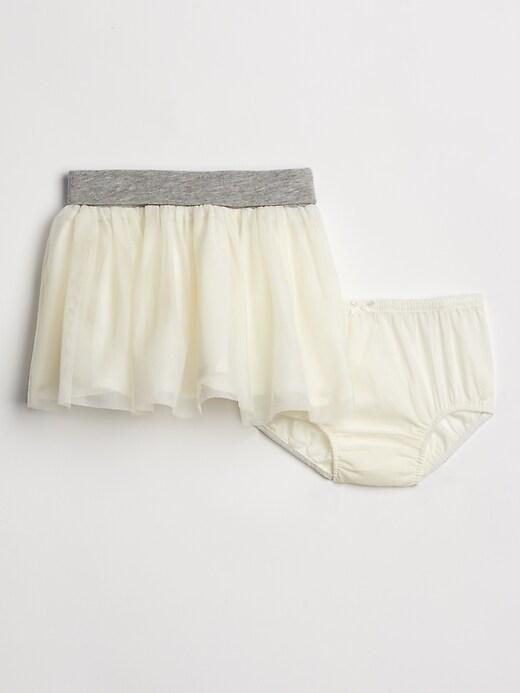 Toddler Tulle flippy skirt