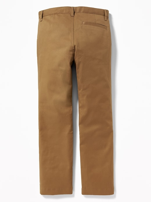 Skinny Built-In Flex Uniform Pants for Boys