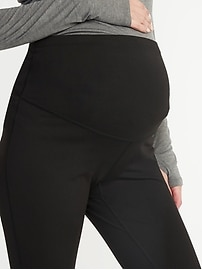 Maternity Full-Panel Elevate Compression Leggings