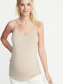 Maternity First-Layer V-Neck Cami