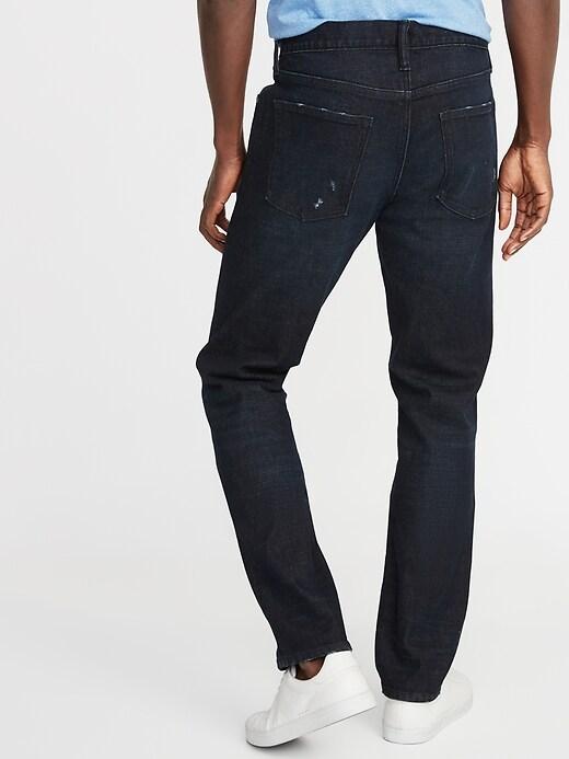 Jean Built-In Flex d'aspect usé, coupe étroite pour homme