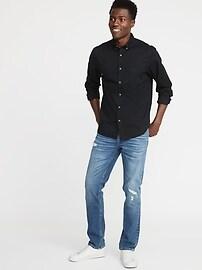 Regular-Fit Poplin Shirt for Men